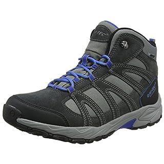 Hi-Tec Men's Alto Ii Mid Waterproof High Rise Hiking Boots, (Charcoal/Grey/Cobalt), 7 UK 41 EU