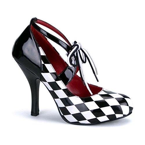 Funtasma HARLEQUIN-03 - Karneval Fasching Halloween Kostüm Schuhe, - Halloween Schuhe