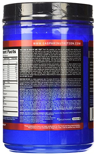 Gaspari 640 g Black Cherry Superpump Max Supplements