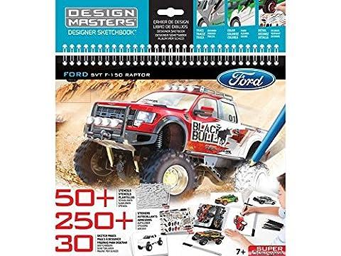 Design Masters Ford F-150 SVT Raptor Large Sketchbook
