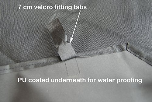 Speedwellstar Mat for 8 Side X Large Pet Pen Run Base Liner Mat Heavy Duty Waterproof Black Universal - Cage NOT… 4