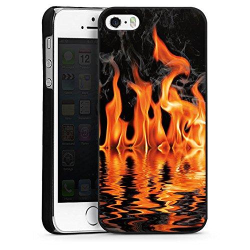 Apple iPhone 4 Housse Étui Silicone Coque Protection Feu Feu Barbecue CasDur noir