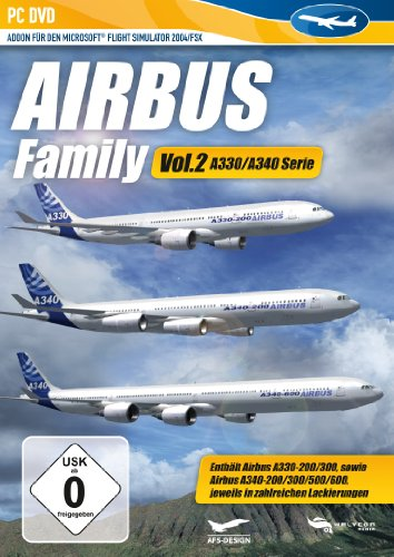 Airbus Family Vol.2 A330-A344 (Add-on für den Microsoft Flight Simulator X/2004) [import allemand]