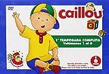 Caillou - Temporada 1, Volúmenes 1-6, idioma español [DVD]
