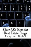 Congratulations! You've made the decision to start a real estate blog. But what do you blog about? Look no further - this book will keep your blog fresh with ideas for years to come.