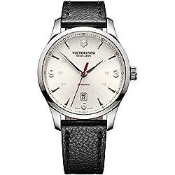 Victorinox Reloj Analógico Automático para Hombre con Correa de Cuero – 241666