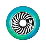 Blazer Pro Vertigo Swirl Aluminium Core Scooter Wheel x1 Green/Blue 100
