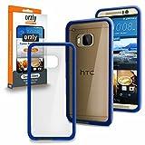 ORZLY® - HTC ONE M9 Caja DURO Fusión Gel Funda AZUL (Fusion Gel Hard Case BLACK Phone Cover Skin) para HTC ONE M9 - Nuevo 2015 Modelo / Versión SmartPhone / Teléfono Celular / Teléfono Móvil