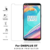 #10: AA(TM) Oneplus 5T Premium Pro Hd+ Crystal Clear Full Screen Coverage Tempered Glass Screen Protector For Oneplus 5T/one plus 5t/1+5t