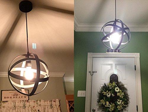Lampadario vintage koonting industriale lampada a sospensione