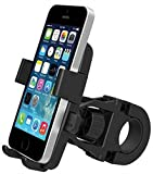 DaoRier 360° Fahrrad Motorrad Universal Handyhalterung ABS Fahrradhalterung Handy Halter für Navi Smartphone iPhone 7/6 Plus/6/5s/5/4 Samsung Galaxy Huawei