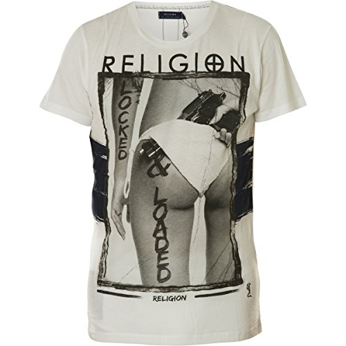 Religion -  T-shirt - Maniche corte  - Uomo Locked & Located | White S