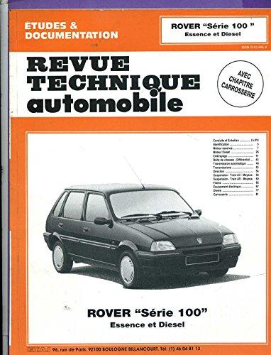 Revue technique automobile - Rover