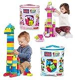 buyonlineforbaby Baby Mega Bloks Toy Big Building Bag Buildable Blocks 60pcs First Builder