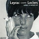 Songtexte von Monique Leyrac - Leyrac chante Leclerc