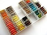 Coffret organiser boite de rangement,Grande boîte de fils de broderie,boîte de rangement, écheveaux boîte de porte pour mouline - 2AINTIMO®