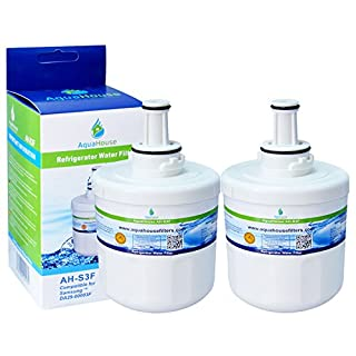 2x AH-S3F kompatibel Wasserfilter für Samsung Kühlschrank DA29-00003F, HAFIN1/EXP, DA97-06317A-B, Aqua-Pure Plus, DA29-00003A, DA29-00003B