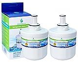 2x AH-S3F filtre à eau compatible pour Samsung réfrigérateur DA29-00003F, HAFIN1/EXP, DA97-06317A-B, Aqua-Pure Plus, DA29-00003A, DA29-00003B