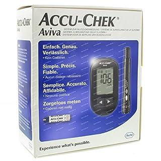 Accu-Check Aviva Blood Glucose system.