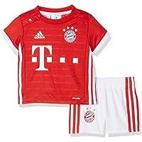 adidas Bayern Fc H Baby Chándal, Niños, Rojo / Blanco, 3-6 meses