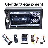 Delicacydex Berufs7inch Touch Screen Auto-Radio MP5 DVD-Spieler Bluetooth 2 Din-Auto-Audio-Musik-Spieler 1080P Stützrückseiten-Kamera