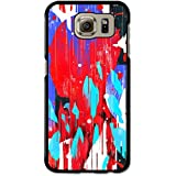 Cool Colourful Art with Head and Shapes Design case for Samsung Galaxy S6