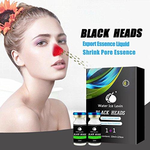 Ultra Skin Care Werkzeug (MRULIC Deep Cleansing Skin Care Nase schwarz Kopf entfernen Akne Behandlung Mitesser Weichmacher Mitesser abgeleitet Flüssigkeit (A))