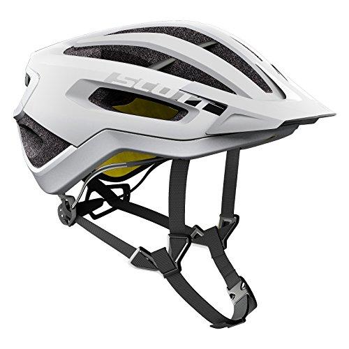 Scott Fuga Plus XC MTB Fahrrad Helm weiß 2018: Größe: M (55-59cm)