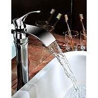 XMQC*Finitura in cromo fori singoli manico unico bacino Deck rubinetto montato Top venditore