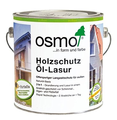 OSMO Holzschutz Öl-Lasur 2,5 Liter Teak 708
