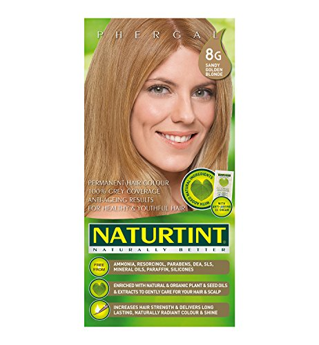 Golden Blonde (Naturtint Permanent 8G Sandy Golden Blonde 170ml)