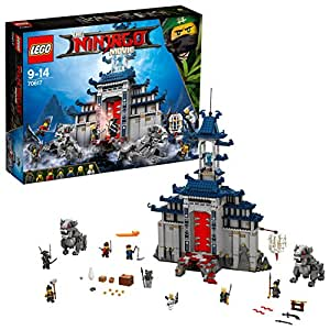 Lego Ninjago Tempio delle Armi Finali, Multicolore, 70617