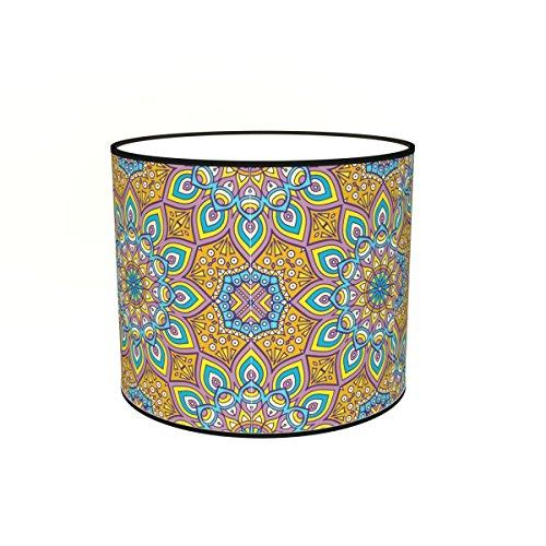 Abat-jours 7111307380153 Imprimé Teva Lampadaire, Tissus/PVC, Multicolore