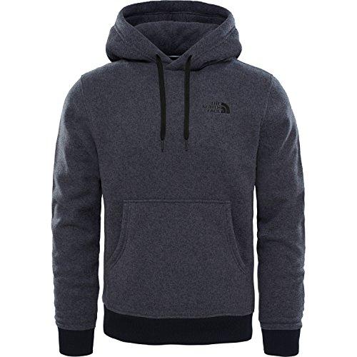 North Face M MC Simple Dome Hoodie Sweatshirt, Herren, Grau-(TNF Dark Grey Heather) (Hoodie Dome)
