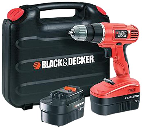 Black + Decker EPC18CABK Perceuse-Visseuse sans fil 18 V