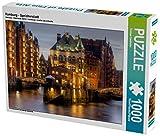 Hamburg - Speicherstadt 1000 Teile Puzzle quer (CALVENDO Orte)