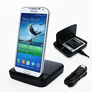 Duo Slot CHARGEUR pour Samsung GALAXY S4 S IV charger phone et batterie station dual dock
