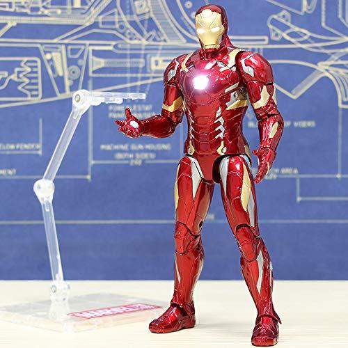 Decddae Marvel Avengers: Endspiel Iron Man MK46 High 17CM Kinderspielzeug Character Glow (Kinder-halloween-filme Liste Eine Von)