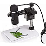 USB Microscopio, Crenova UM012C Microscopio Digital USB Microscopio de Video 5MP Cámara de Aumento 300x para Windows XP/VISTA/WIN7/Mac OSX