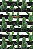 Notebook: Beautiful Cactus Notebook Journal   120-Page Lined: Volume 1 (Cactus Notebooks)