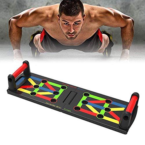 Gorgebuy Sistema Pieghevole 9-in-1 Push Up Board - Attrezzi Fitness per Body Building per Uomini e...