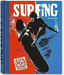VA-TASCHEN 365 SURFING -ANGLAI