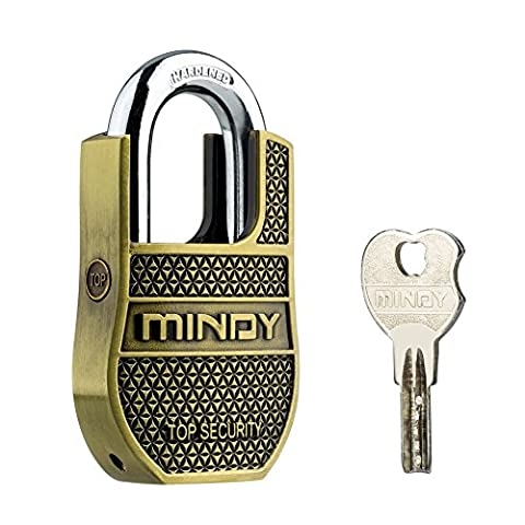 Mindy PadLock with Keys Heavy Duty Special Chains Lock,1-Pack,