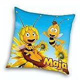 Biene Maja - Kissen Kinder Kuschelkissen Dekokissen Maja & Willi 40x40cm