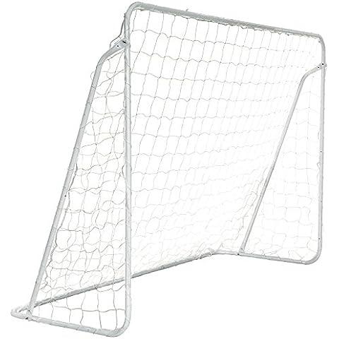 Songmics Portería de fútbol 3x 2m/2.4x 1,5m Portable clavados seguro verriegelt amplificación szq, color  - 3 x 2 m, tamaño 3 x 2 m