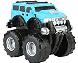 #8: Funny Teddy Unbreakable Automobile Hummer Car Toy Set (Small car - 23 cm ) | Monster truck | Birthday Gift - (Blue)