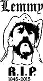 Lemmy Aufkleber Sticker Autoaufkleber 185x100mm Folie Fan Art