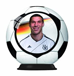 Lukas Podolski Puzzle 3D Ravensburger DFB Spieler zum Sammeln