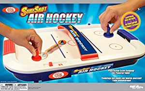 POOF-Slinky 35900BL Ideal SureShot Air Hockey Tabletop Game by Ideal TOY (English Manual)