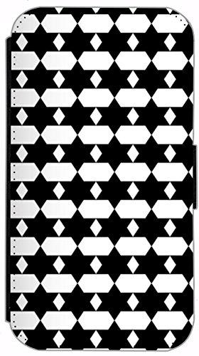 Kuna Flip Cover für Apple iPhone 5 / 5s Design K366 Klavier Noten Schwarz Hülle aus Kunst-Leder Handy Tasche Etui mit Kreditkartenfächern Schutzhülle Case Wallet Buchflip Rückseite Schwarz Vorderseite K345